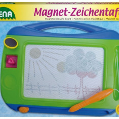 Tablita Magnetica De Desenat 32 Cm Lena - Jocuri arta si creatie