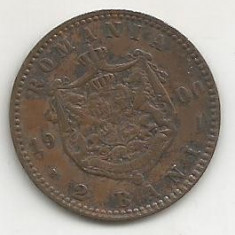 ROMANIA 2 BANI 1900 [5] livrare in cartonas - Moneda Romania, Cupru (arama)