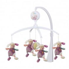 Carusel Muzical Lara - Patut pliant bebelusi
