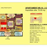 Vand apartament 3 camere, etaj 2, zona Tractorul-Brasov - Apartament de vanzare, 72 mp, Numar camere: 3, An constructie: 2018, Etajul 2