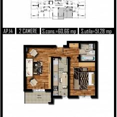 Imi caut proprietar!!! - Apartament de vanzare, 51 mp, Numar camere: 2, An constructie: 2017, Etajul 5