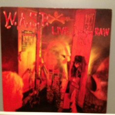 W.A.S.P. - LIVE..IN THE RAW (1987/CAPITOL/Holland) - Vinil/Analog/Impecabil (NM) - Muzica Rock capitol records