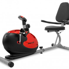 Bicicleta magnetica recumbent Scud Swift H3 -rosu - Bicicleta fitness Sportmann, Bicicleta orizontala, Max. 120