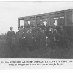 4080 - TURDA - old postcard, real PHOTO - unused