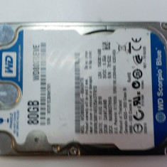 "38.HDD Laptop 2.5"" IDE 80 GB Western Digital 5400 RPM 8 MB, 100-199 GB, Western Digital"