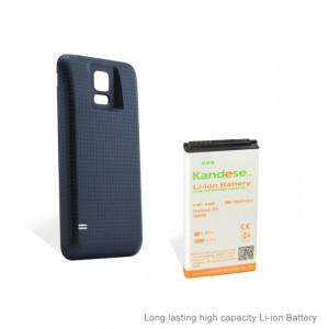 Baterie extinsa 7800 mah + capac negru dedicat Samsung Galaxy S5 G900 i9600