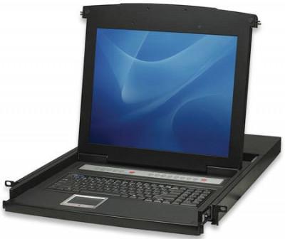 KVM Intellinet 506540 8 porturi PS/2 USB LCD 17 consola 1U foto
