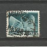 No(9)timbre-Romania -FONDUL AVIATIEI-stampilat