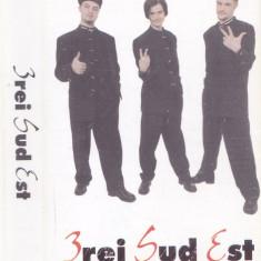 Caseta audio: 3rei Sud Est - 3rei Sud Est ( 1998 - originala, stare f. buna )