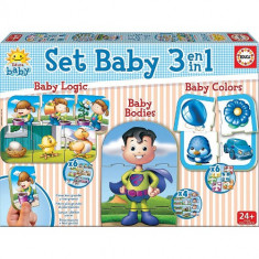 Puzzle Baby Educational Games 3 in 1
