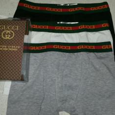 Boxeri barbati Guess by Marciano Gucci pachet 3 buc -- SERIE LIMITATA --, Marime: XXL, Culoare: Multicolor