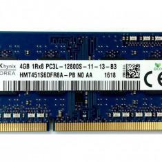 Memorie laptop Hynix 4GB DDR3 1600MHz Bulk - Memorie RAM laptop