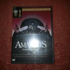 Amadeus (Mozart) film Milos Forman –DVD limba engleza - Film drama warner bros. pictures