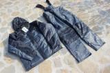Costum Gros  Thermo Baracuda Captusit Fleece 100 % Impermeabil Salopeta + Geaca, L, M, S, XL, XXL, Costume complete