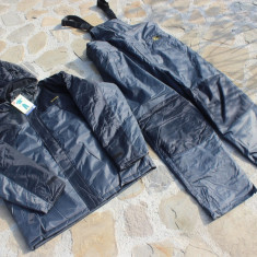 Costum Gros  Thermo Baracuda Captusit Fleece 100 % Impermeabil Salopeta + Geaca
