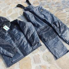 Costum Gros Thermo Baracuda Captusit Fleece 100 % Impermeabil Salopeta + Geaca - Imbracaminte Pescuit Baracuda, Marime: L, M, S, XL, XXL
