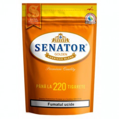 Tutun SENATOR ORANGE 110 gr + aparat injectat SENATOR + SENATOR Multifilter 200