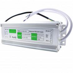 Alimentator banda led 12V 8.3A 100W IP67 de exterior led drive