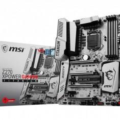 Placa de baza MSI Socket LGA1151, Z270 XPOWER GAMING TITANIUM, Intel Z270 Chipset, 4*DDR4 4000(OC)/3800(OC)/3600(OC)/3200(OC)/3000(OC)/2800 bulk, Altul, ATX
