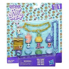 Littlest Pet Shop - Set Comori Tropicale - Figurina Povesti Hasbro