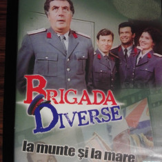 Brigada diverse la munte si la mare - Film comedie, DVD, Romana