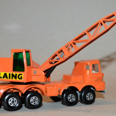 Macheta MATCHBOX Super Kings k-12mobile crane - Macheta auto Matchbox, 1:55