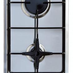 Plita incorporabila ARCTIC Domino ARDCG32210SX gaz 2 arzatoare inox, Argintiu, Numar arzatoare: 2