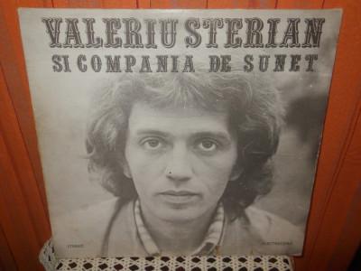 -Y-  VALERIU STERIAN SI COMPANIA DE SUNET - Veac XX  DISC VINIL LP foto