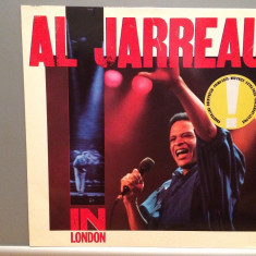 AL JARREAU - IN LONDON (1985/Warner/RFG) - Vinil/Analog/Vinyl/Impecabil(NM)