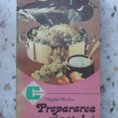 Prepararea Vanatului - V. Nicolau, 406650 - Carte Retete culinare internationale