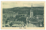 4070 - Salaj, ZALAU, panorama - old postcard - used - 1939
