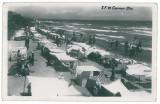 4072 - Dobrogea, CARMEN SYLVA, Plaja - old PC, real PHOTO, CENSOR - used - 1944, Circulata, Fotografie
