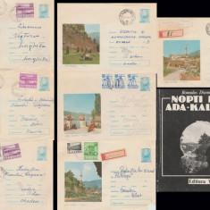 1969 Ada-Kaleh 7 fragmente plicuri intreguri postale + bonus Nopti la Ada-Kaleh, Dupa 1950