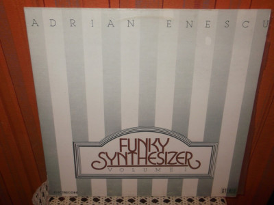 -Y- ADRIAN ENESCU - FUNKY SYNTHESIZER VOLUME 1  DISC VINIL LP foto
