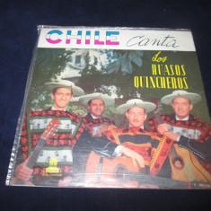 Los Huasos Quincheros - Chile Canta _ vinyl,Lp_ Odeon (Chile), VINIL