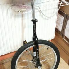 Monociclu Fishbone - Bicicleta pliabila, 20 inch, Numar viteze: 1