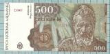 Bancnota 500 lei 1991 Ianuarie seria D0002/782