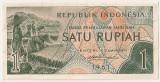 INDONESIA INDONEZIA 1 RUPIAH 1961 AUNC
