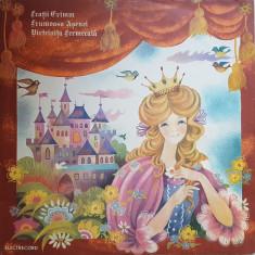 FRUMOASA ASENEL * VARTELNITA FERMECATA - Fratii Grimm (DISC VINIL) - Muzica pentru copii
