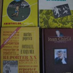 Carte de sport (lot 4 carti) - Ioan Chirila, Marius Popescu (vezi descrierea)