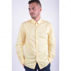 Camasa Selected Famous Shirt Ls Slim Fit Summer - Camasa barbati Selected, Marime: L, Culoare: Galben