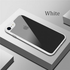 Husa Ultra Thin Acrylic Apple iPhone 8G Plus White - Husa Telefon, iPhone 7/8 Plus, Gel TPU