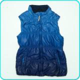 Vesta groasa, calduroasa, usoara, PUNTO →fete | 11—12 ani | 146—152 cm, Alta, Bleumarin