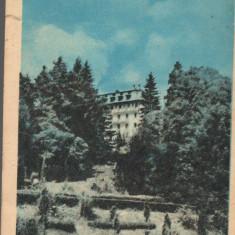 CPI (B9294) CARTE POSTALA - GOVORA. PAVILION BALNEAR, RPR - Carte Postala Oltenia dupa 1918, Circulata, Printata