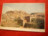 Ilustrata Atena veche si Acropole cca.1900, Necirculata, Printata