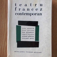 TEATRU FRANCEZ CONTEMPORAN- ANOUILH, COCTEAU, IONESCU - Carte Teatru