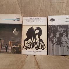 PROCESUL/CASTELUL/VERDICTUL-FRANZ KAFKA (3 VOL) - Roman