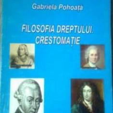Gabriela Pohoata - Filosofia Dreptului Crestomatie - Carte Teoria dreptului