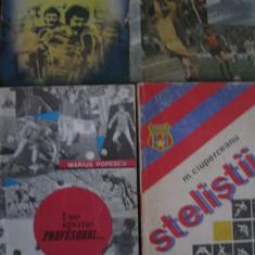 Carte de sport (lot 4 carti) - Steaua / CCA Bucuresti (vezi descrierea) - Carte sport