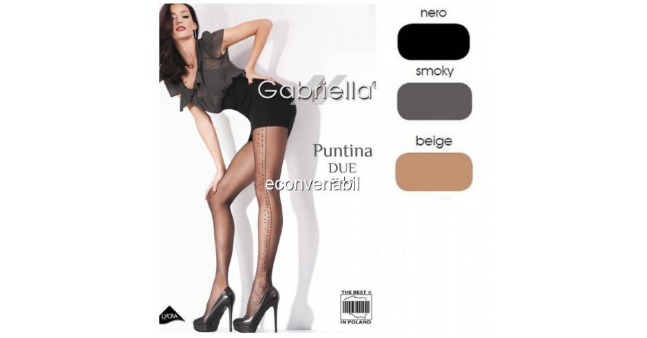 """High Quality Tights /""""Giny/"""" 20 den."""